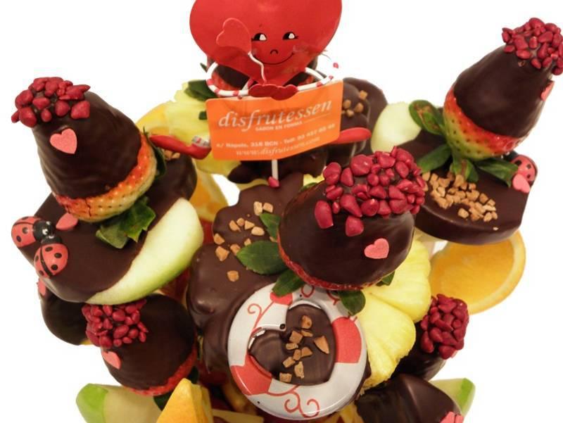 Ramo de fruta Romantico