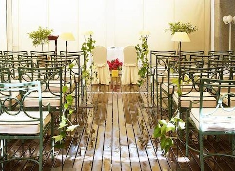 hesperia sevilla. Hoteles bodas en Sevilla. Ceremonias 3