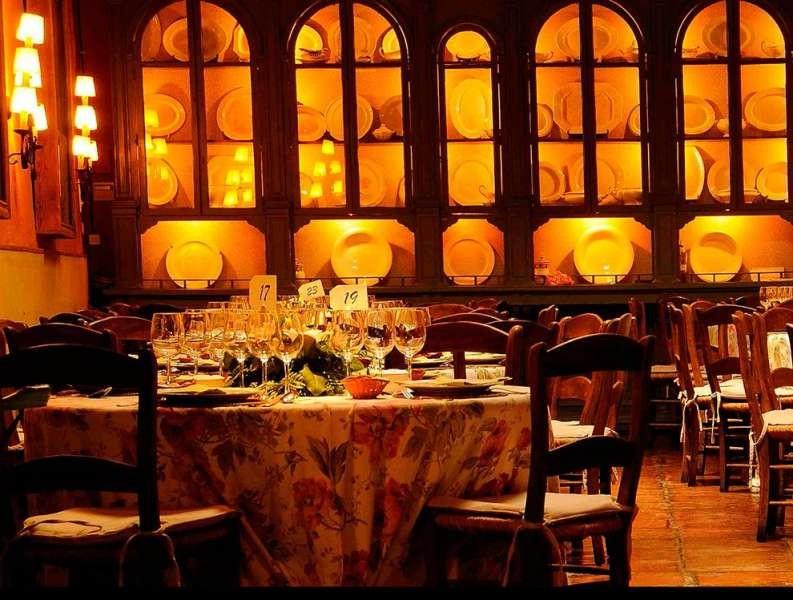 Bodegas Campos. Salones Bodegas Restaurante. Refectorio