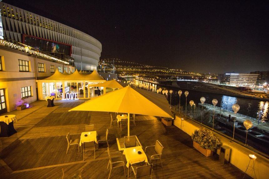 NH Zubialde. Hoteles Bodas Bilbao. Terraza 1