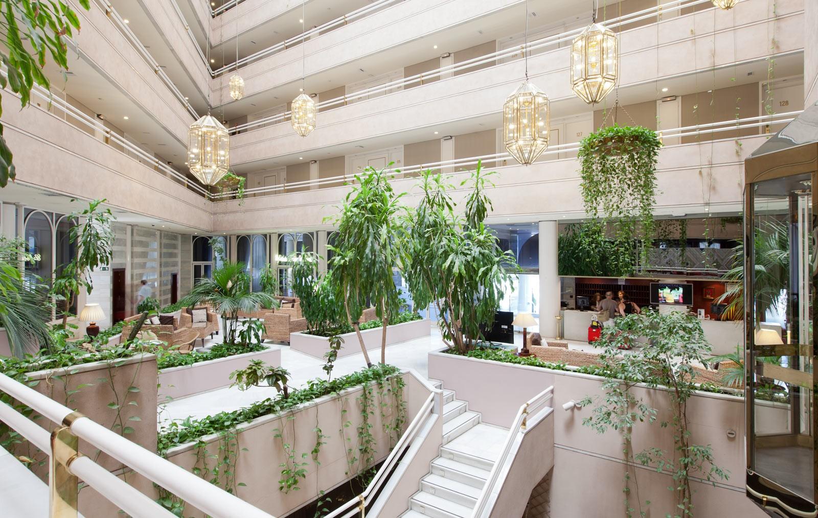 Granada Center. Hoteles Bodas en Granada. Lobby 1