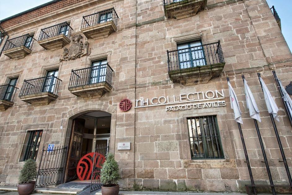 nh collection palacio de aviles. Hoteles Bodas Asturias. Fachada 1