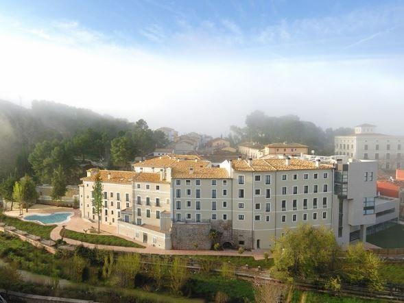 Balneario Alhama de Aragón. Hoteles Zaragoza Bodas. Fachada 1