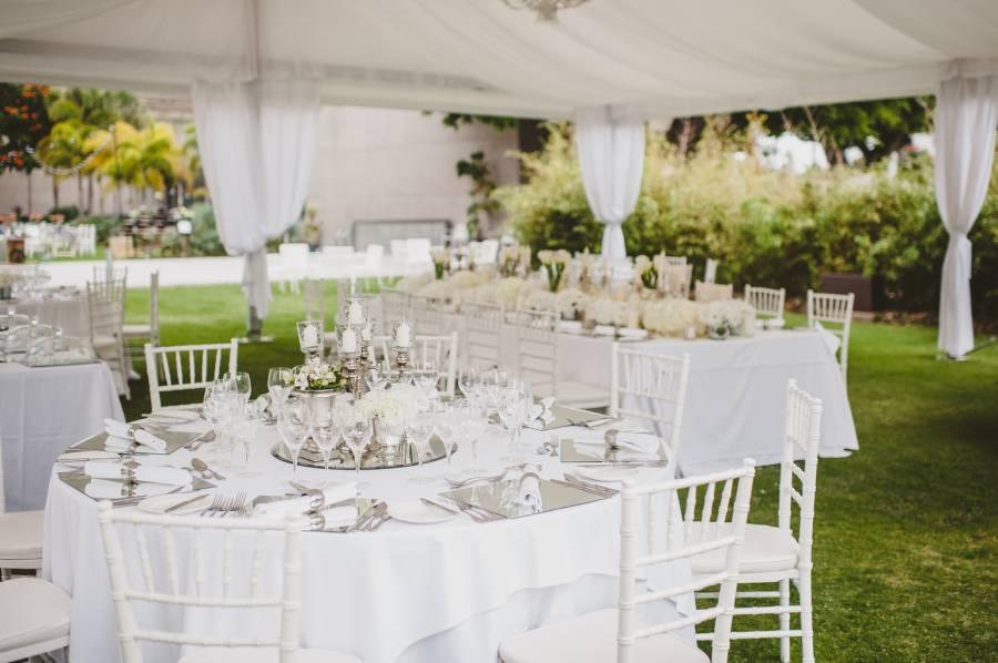 Banquete jardines