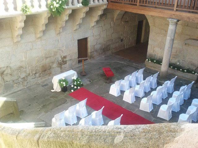 Ceremonia Civil en el Patio I
