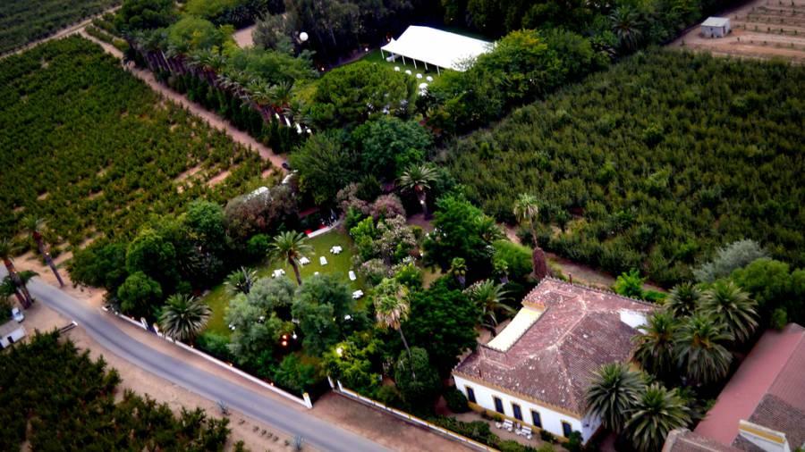 Vista Aerea Hacienda La Varaa