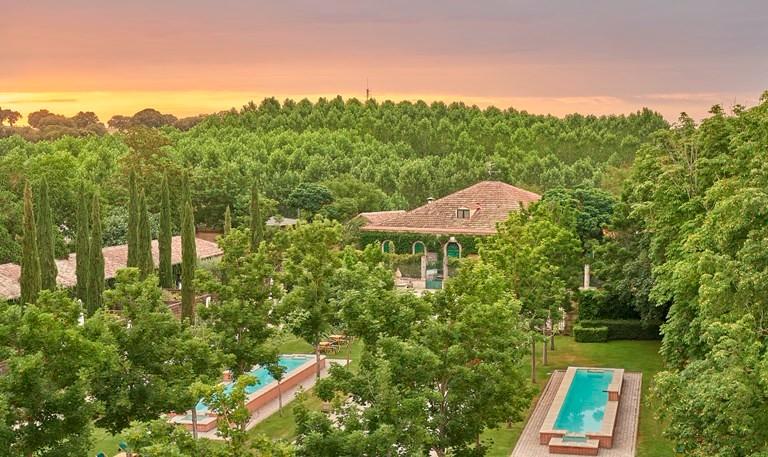 Hacienda Zorita. Hoteles Espacios con Encanto Salamanca. Jardines 3
