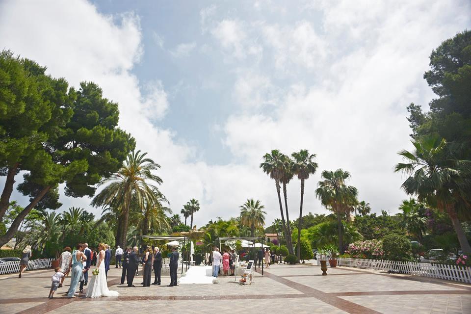 Jardins El Poblet. Fincas Bodas Alicante Denia. Jardines 2