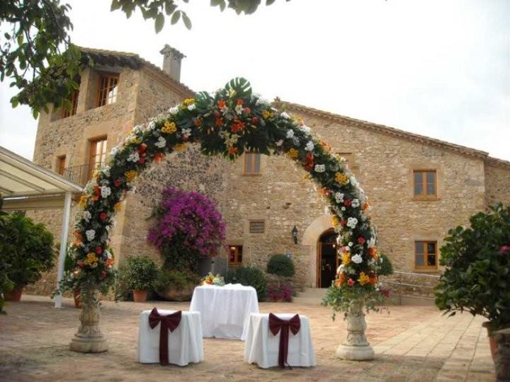 Mas Can Tosca. Masias Restaurantes Bodas Barcelona. Ceremonias 3