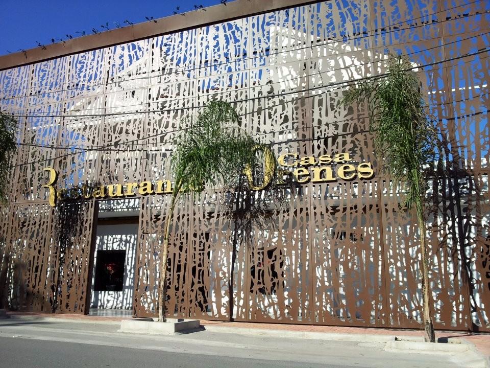 casa orenes. restaurantes bodas murcia. fachada