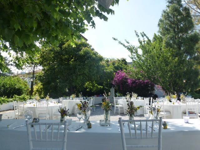 Palacete de Cázulas. Espacios con encanto Granada. Banquetes