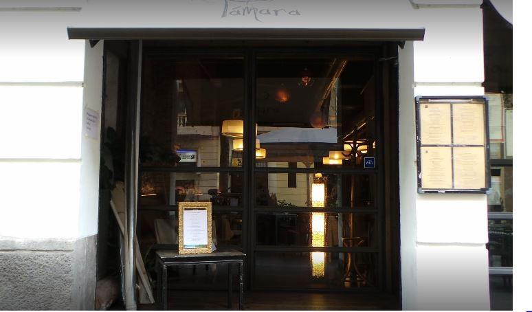 Tamara. Restaurantes Bodas Eventos Barcelona. Fachada