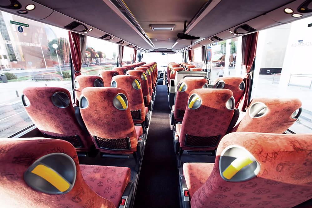 hnos montoya autobuses madrid. aquiler de autocares gran confort 2
