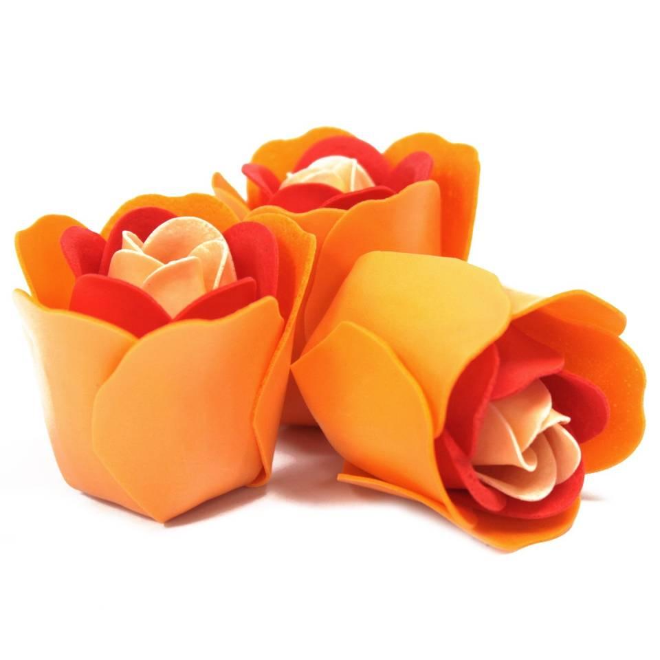 Flores-de-jabón-3-rosas-melocoton-1