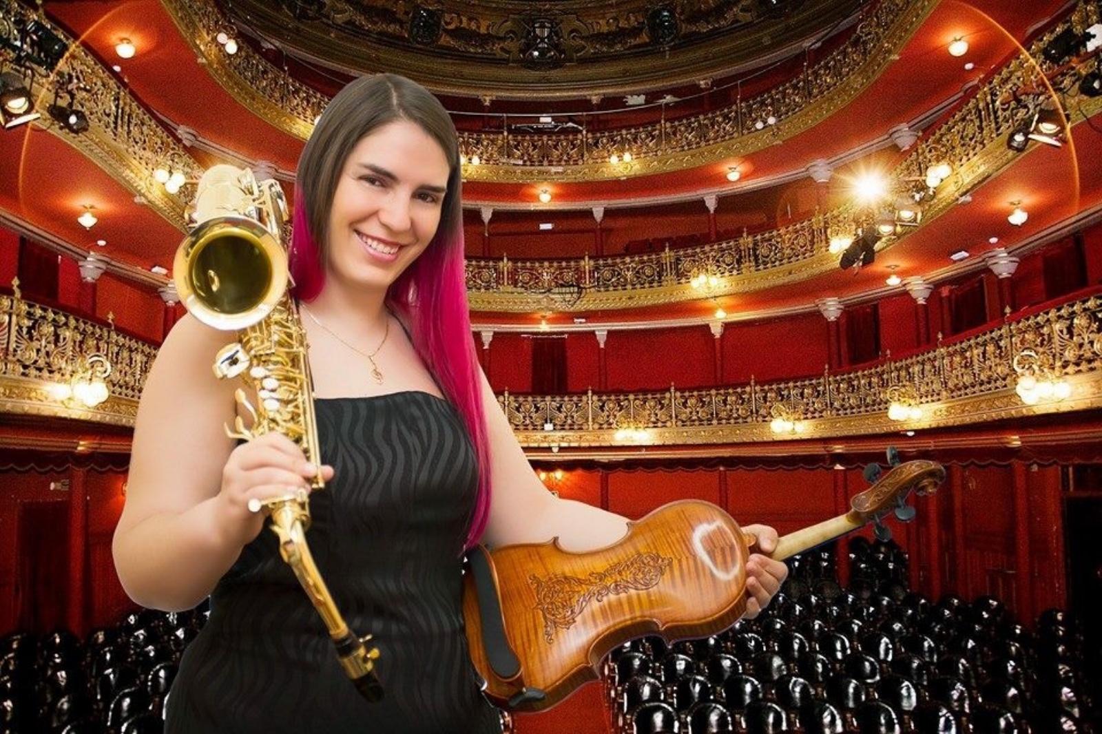 La Mujer Orquesta en Concierto