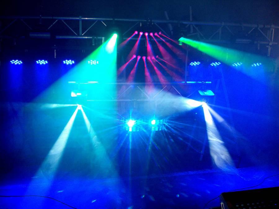 Iluminación discomóvil