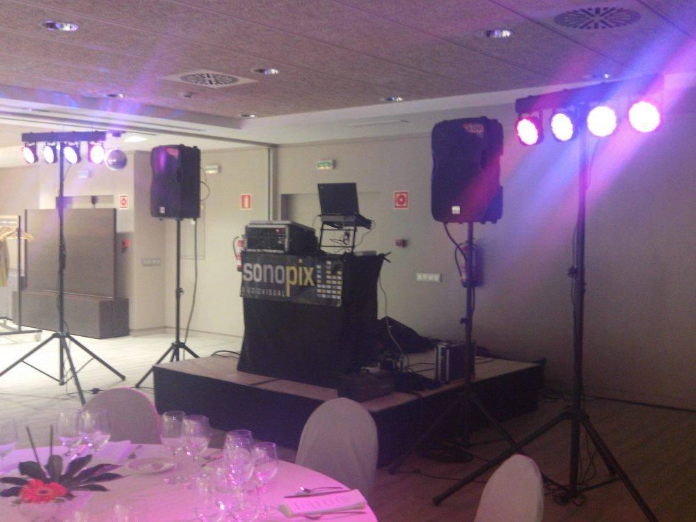 discoteca y sonido para bodas