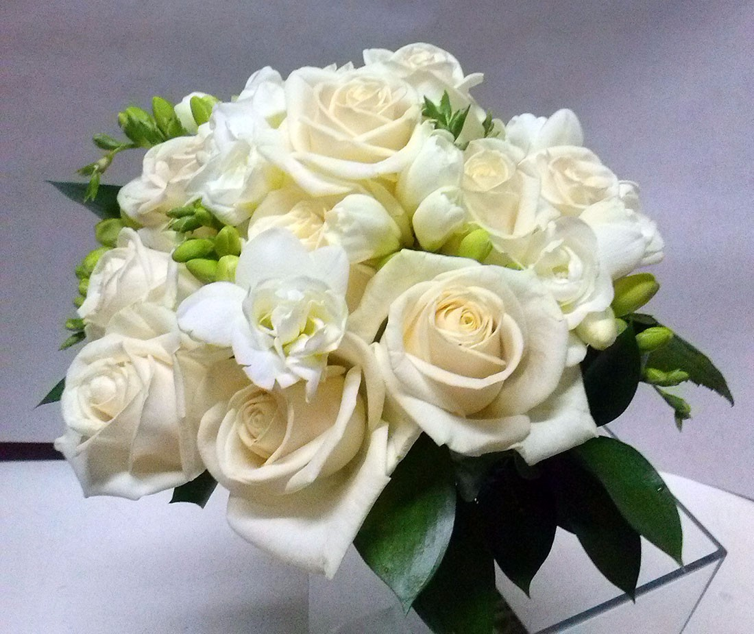 maria del prado ramo novias rosas