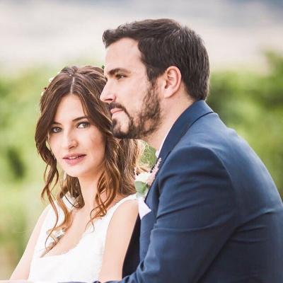 Cómo fue la boda de Alberto Garzón