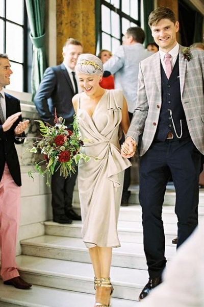 Los mejores looks para tu boda civil