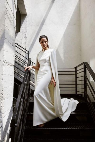 Novias minimalistas: guapas y sencillas