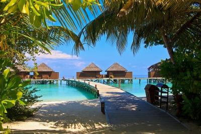 Las Maldivas, destino ideal para lunas de miel.