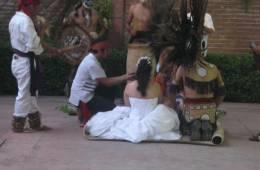 El rito de las bodas Aztecas