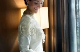 Vestidos de novia para el otoño