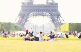 Un picnic vintage parisino