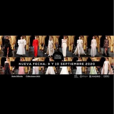 Atelier Couture celebrará su 6ª edición los días 9 y 10 de septiembre