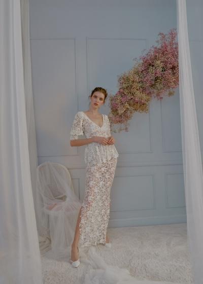 Ángela Pedregal presenta su nueva colección de novias 2021