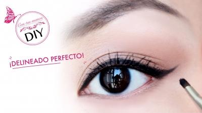 DIY: eyeliner perfecto en 5 minutos