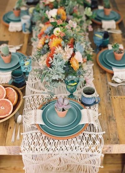 ¿La mesa perfecta de boda? Te descubrimos los secretos