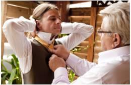 El nudo de la corbata para el novio  (I)