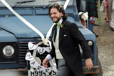 Un look de boda de Hollywood