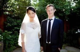 La boda sencilla e íntima del creador de Facebook