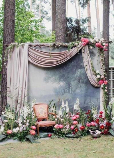 Ideas para el photocall de tu boda