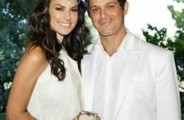 Alejandro Sanz y Raquel Perera comparten foto de recién casados