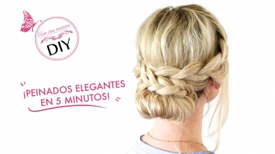 DIY: Peinados sencillos y elegantes para tu boda