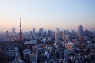 Contemplar las panorámicas de Tokio