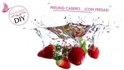 DIY: peeling de fresas
