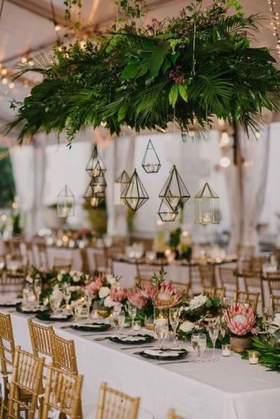 Ideas para decorar tu boda en tonos dorados