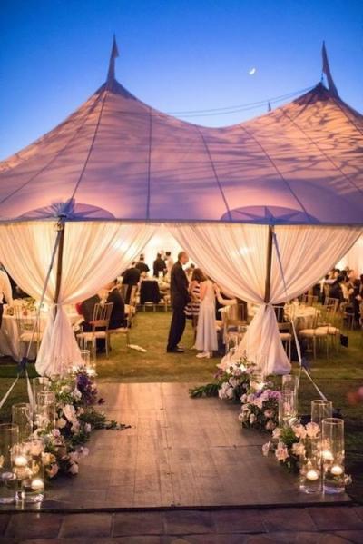 ¿Cómo decorar la carpa de tu boda? No te pierdas estos consejos