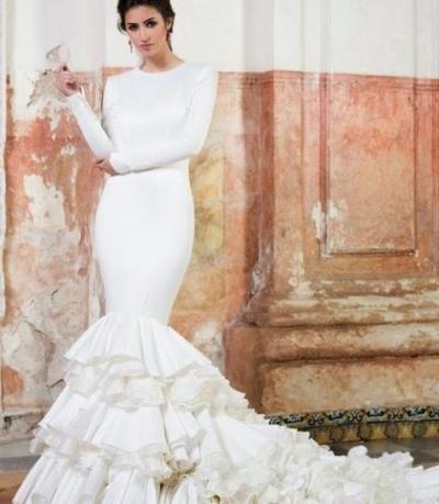 10 vestidos de novia con aires flamencos