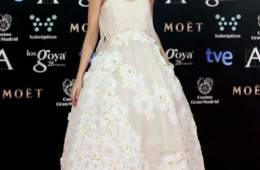 Looks blancos en la alfombra roja de los Goya 2014