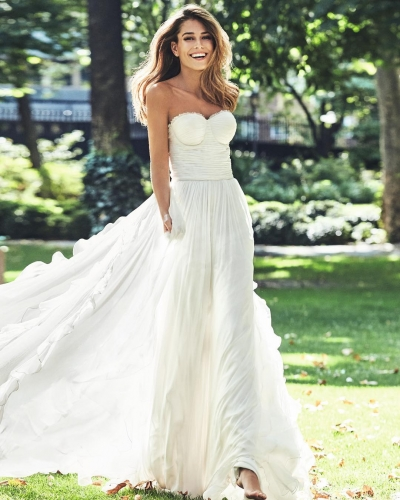 10 vestidos de novia línea A