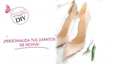 Personaliza tus zapatos de novia
