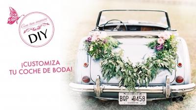 DIY: Decora tu coche de boda