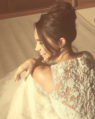 Meghan Markle, vestido de novia 'top secret'
