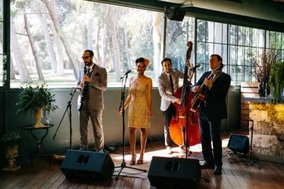 Música en directo en la boda